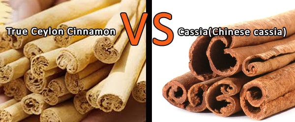 Is cassia bark the same as true cinnamon? distinguish ...